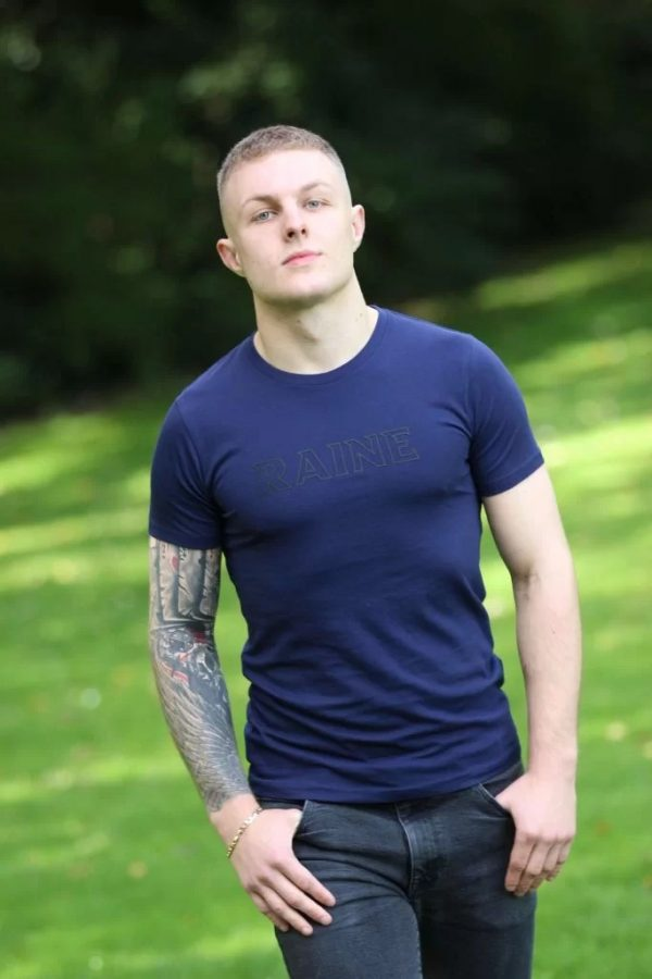Mens-basic-organic-navy-tshirt