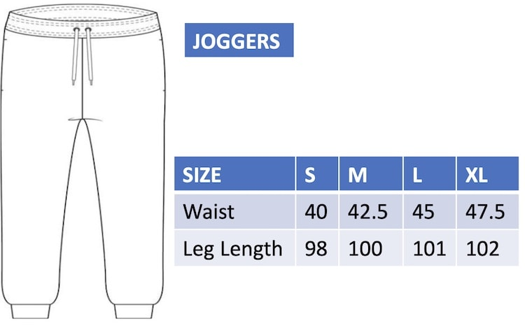 Woman's joggers size