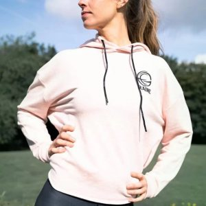 Womens-classic-organic-heather-pink-comfy-hoodie